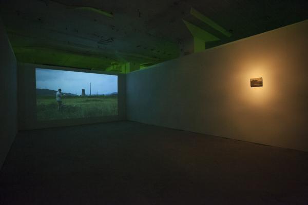 Dagmar Keller & Martin Wittner (DE: CH) Blackened Landscape in summer-1. Foto Ilona van den Brekel