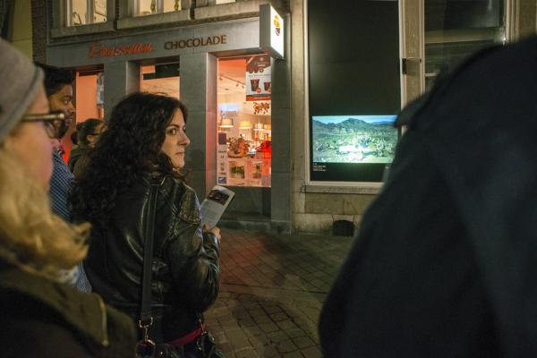Greta Alfaro (ES) In Ictu Oculi. Foto Moniek Wegdam