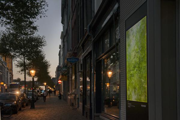 Kim Boske (NL) I go walking in your landscape. Foto Moniek Wegdam